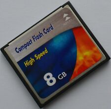 8gb per Sony DSLR-A 350 Alpha a350 8 GB COMPACT FLASH CF SCHEDA DI MEMORIA