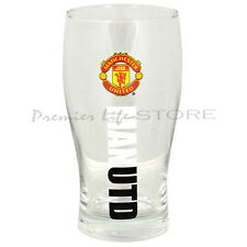 Manchester United  FC Crest Pint Glass - Latest Beer Glass