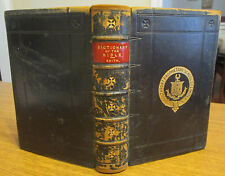 A Smaller Dictionary of the Bible; Sir William Smith; Leather, 1893; Free Ship
