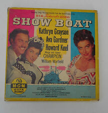 Show Boat 4x45rpm Box Set MGM K84 Kathryn Grayson Ava Gardner Howard Keel