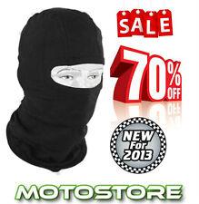 NEW BLACK BALACLAVA ONE SIZE UNISEX MOTORCYCLE MOTORBIKE CYCLE SKI MTB ENDURO MX