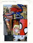 1996 Amazing Spider-man 416 Marvel Comics printer's proof art page 8: Spiderman