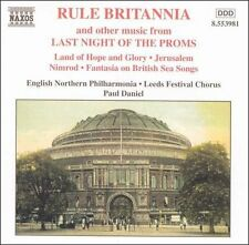 , Rule Britannia and Other Music from Last Night of the Proms, Excellent