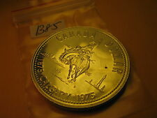 CANADA  1975 SILVER DOLLAR COIN 100 YRS OF CITY OF CALGARY ID#B75