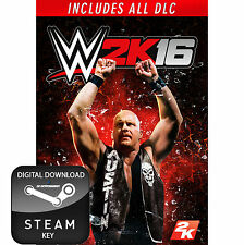 WWE 2K16 THE COMPLETE EDITION INCLUDES ALL DLC PC STEAM KEY