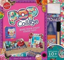 Pop Collage : Make Your Stuff Stand Out! by Klutz Editors (2015, Hardcover)