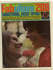 FABULOUS 208 26/10/1968 Canned Heat Monkees Bee Gees Mary Hopkin Cream Casuals