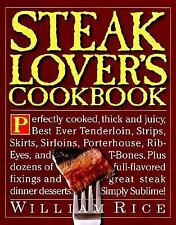 Steak Lover's Cookbook-ExLibrary