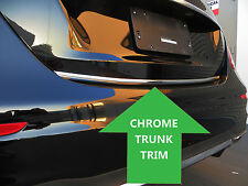 Chrome TRUNK TRIM Molding Kit for volkswagen vw models #1