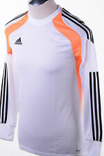 $65 Adidas Performance Onore 14 Goalkeeper Jersey White Orange Black Men's M