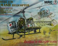 BELL 47D MASH HELICOPTER MILITARY  MRC 1/35 SCALA PLASTIC MODEL