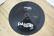"""Paiste Colorsound 5 20"""" china Cymbal excellent-used china for sale"""