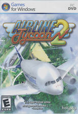 AIRLINE TYCOON 2 II Air Line Airport Simulation Strategy PC Game -US Version NEW