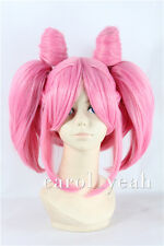 Sailor Moon Chibiusa Chib lolita Cosplay Wig pink Costume Anime party hair Wigs