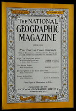 National Geographic Magazine June 1946 NAVY - CAPE COD - CHINA SEA - WORM - COKE