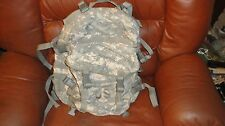 US Army ACU ASSAULT PACK w/ Back Stiffener 3 Day MOLLE Backpack Bug Out Bag VGC