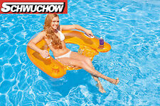 Intex Sit´n Float  Luftmatratze Schwimmsessel Orange Gelb Bestway Pool Lounge