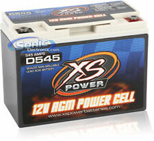 XS Power D545 12-Volt Deep Cycle AGM Power Cell Car Battery with 800 Max Amps