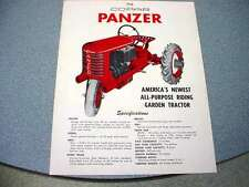 Copar Panzer Lawn & Garden Riding Tractor Color Sheet