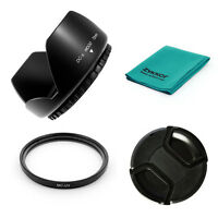 72mm LENS HOOD,  MCUV UV Filter for Canon EOS 7D 50D 5D 60D 600D T3i w/ 18-200mm