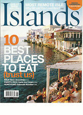 ISLANDS,  JUNE, 2013 ( 10 BEST PLACES TO EAT TRUST US ) GREAT WINE FROM COWS ?