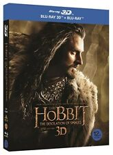 The Hobbit: The Desolation of Smaug 3D Blu-ray w/SlipCover Region A Korea Import