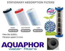 AQUAPHOR In line 1,10mic,SOFT Carbon Fibre Block Water Filter Cartridges 10-inch