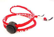 Sportliches Brillenband verstellbar Rot Sportband Brillenhalter