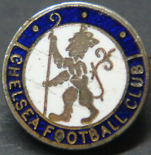CHELSEA FC Rare vintage club crest type badge Brooch pin In gilt 16mm x 16mm