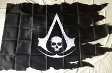 ASSASSINS CREED 4 BLACK FLAG BLACK CHEST PIRATE  FLAG NEW SEALED