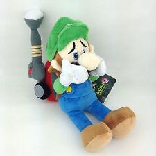 """Luigi's Mansion 2 Luigi Super Mario Plush Toy Stuffed Animal with Vacuum Doll 9"""""""