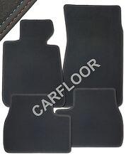Für BMW M3 E36 Cabrio Fußmatten Velours Deluxe mit Nubukband Einfassung M-Optik