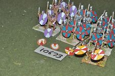 25mm foundry late roman 26 infantry (10673)