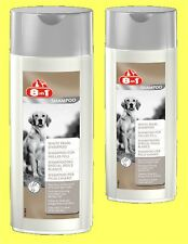 8in1 Shampoo for helles Fur 2 x 250ml Dog Shampoo for white fur €31,80/1 L