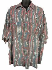 Vintage '80s Body Glove Surf Aloha Rayon Shirt XXL 2XL Sun Faded 1988