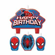 Spiderman Superhero Boys Birthday Party birthday cake candle!!