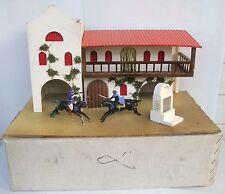 Rare hacienda de Zorro walt disney 1965 Gilaz pour figurines starlux jim cyrnos