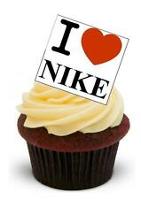 NOVELTY I LOVE NIKE STAND UP Edible Cake Toppers Birthday Sport