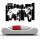 Wall Stickers Home Decor Removable Art Vinyl Decal Quote World Map FAST POST!