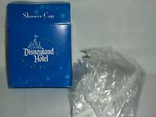 Disneyland Hotel Room Bathroom Shower Cap Guest Disney Souvenir Blue Castle