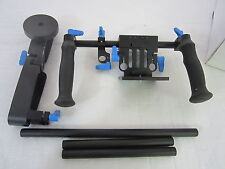 e-Photo Digital DSLR Shoulder Mount Rig with COUNTER WEIGHT and Follow Focus