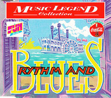 Compilation ‎CD Coca-Cola Music Legend Collection - Rythm And Blues - Promo - Fr