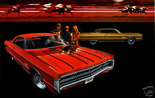 1971 Plymouth Sport Fury GT, Refrigerator Magnet, 40 MIL
