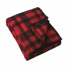 Filson Mackinaw Wool Blanket - Red / Black Plaid 80110 NEW