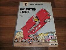 BENNI BÄRENSTARK  #  1 -- die ROTEN TAXIS // von Peyo / Carlsen  1. Auflage 1980