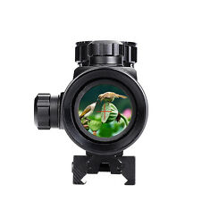 Hunting 1X40RD Red Green Dot Rifle Scope Telescope Optical Sight 11/20mm