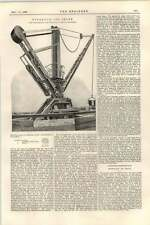 1899 Hydraulic Jib Crane Leeds Engineering Hospital At Aswan Dam
