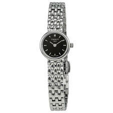 Tissot Lovely Black Dial Stainless Steel Ladies Watch T0580091105100