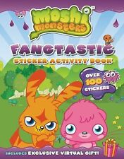 Fangtastic Sticker Activity Book Moshi Monsters)