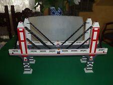 LEGO TRAIN TRENO EISENBAHN ZUG CITY PONTE BRIDGE RC RAILS SCHIENEN LONG VERSION